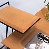 GRÃO | #3 coffee table - light cork and black legs 6