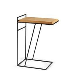 Table basse GRÃO | #3 - liège clair et piètement noir