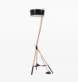 Floor Functional KA XL Lamp - black