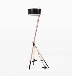 Lampe de sol KA Functional Lamp XL - noir