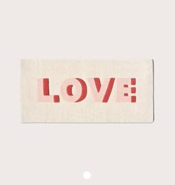 LOVE Wool Rug