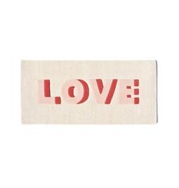 Tapis en laine LOVE