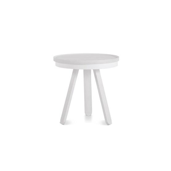 Small BATEA Tray table - white - Design : WOODENDOT