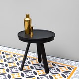 Small BATEA Tray table - black 5