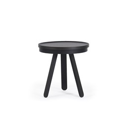Small BATEA Tray table - black