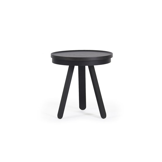 Small BATEA Tray table - black - Design : WOODENDOT
