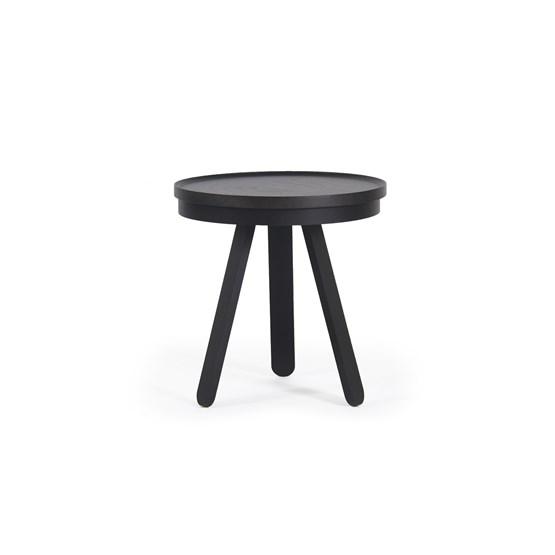 Table basse à plateau BATEA S - noir - Design : WOODENDOT