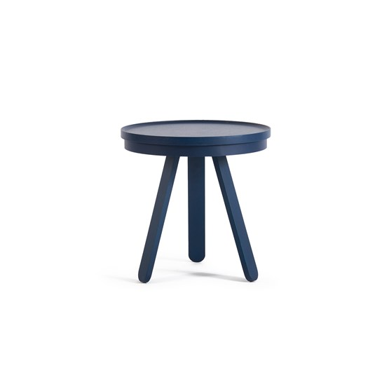 Small BATEA Tray table - blue - Design : WOODENDOT