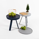 Small BATEA Tray table - blue 6