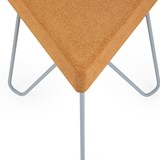 TRES | stool or table -  light cork and grey legs 5