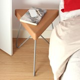 TRES | stool or table -  light cork and grey legs 6