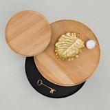 BATEA M coffee table - oak/white 5