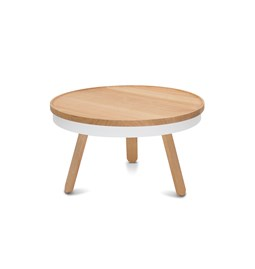 BATEA M coffee table - oak/white