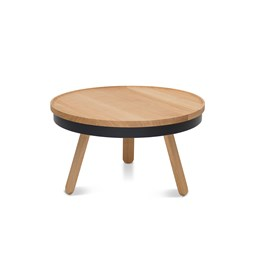BATEA M coffee table - oak/black