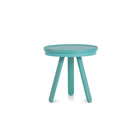 Small BATEA Tray table - green - Design : WOODENDOT