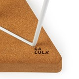 TRES | stool or table -  light cork and white legs  7