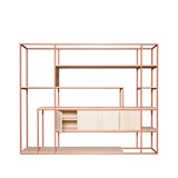 CELESTE Shelf - beige red 2