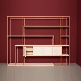 CELESTE Shelf - beige red 3