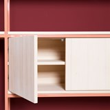 CELESTE Shelf - beige red 5