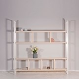 SUSTEREN WIT shelf 4