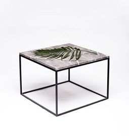 MOON Grey Coffee Table