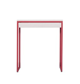 THORN Console with drawer - strawberry red