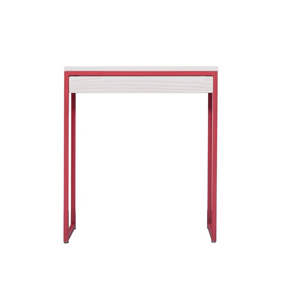 THORN Console with drawer - strawberry red - Design : JOHANENLIES