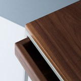THORN console with drawer - walnut 5
