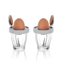 Eggcups - Duo Cot-Cot Grey