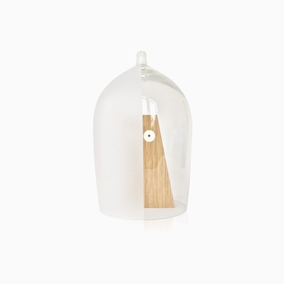 NIPPY S glass bell - Designerbox - Design : Piergil Fourquié