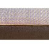 Coussin en lin à damier violet MIX&MATCH - Designerbox X CELC 5