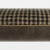 Checkerboard Black linen cushion MIX&MATCH - Designerbox X CELC 4