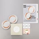 Pair of dessert plates - Designerbox 3