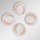 Pair of dessert plates - Designerbox 4
